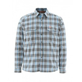 Coldweather Ls Shirt tidal Blue Plaid