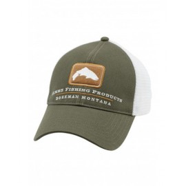 Casquette Trout Trucker - Hunter Green
