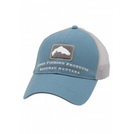 Casquette Trout Trucker - Blue Stream