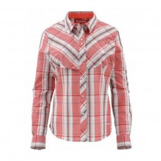 Chemise Big Sky - Dark Coral Plaid (M)