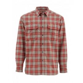 Coldweather Ls Shirt Ruby Plaid
