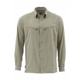 Intruder Bicomp Ls Shirt Dk Khaki