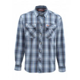 Gallatin Flannel Ls Shirt - Dk Moon