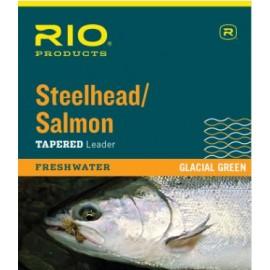 Salmon/steelhead Glacial 3 Pack Leaders