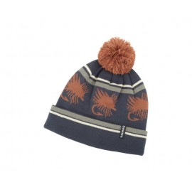 Tuque Big Hole Pom - Rust