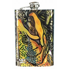 Hip Flask - Estrada's Brown Trout