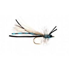 Fluttering Blue Damsel