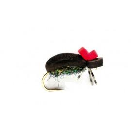 Hi-vis Black Foam Beetle