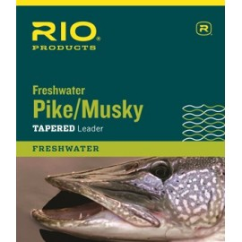 Pike And Musky Tapered Leader 7.5ft
