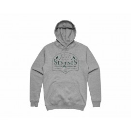 Hoody Big Sky - Grey Heather
