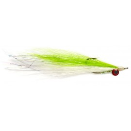 Deep Water Clouser Chartreuse & White