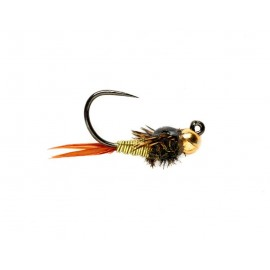 Copper John Jig Barbless - Chartreuse