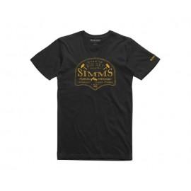 T-Shirt Big Sky - Noir