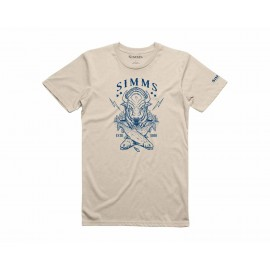 T-Shirt Bison - Sable