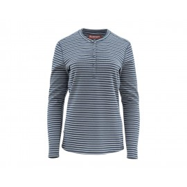 Chandail Drifter Henley - Dark Moon