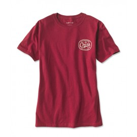 T-Shirt Label Tee - Rouge