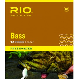 Bass Tapered Leader 9ft - Rio