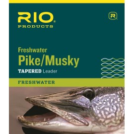 Pike And Musky Tapered Leader - 7.5ft