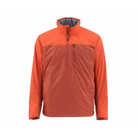 Pull-Over Midstream Isolé - Simms Orange