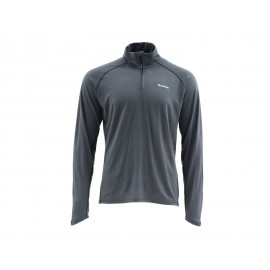 Couche de Base Ultra-wool 1/4 Zip - Raven