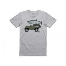 T-Shirt Trout Cruiser - Grey Heather