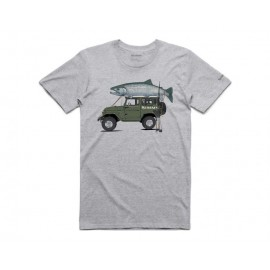 T-Shirt Trout Cruiser - Grey Heather