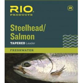 Salmon/Steelhead Glacial 12ft 12lb Leader (1pqt) - Rio