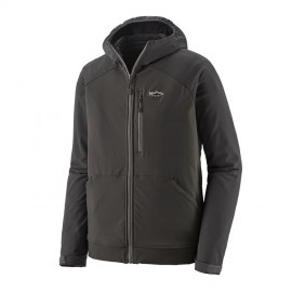 Hoody Snap-dry - Forge Grey