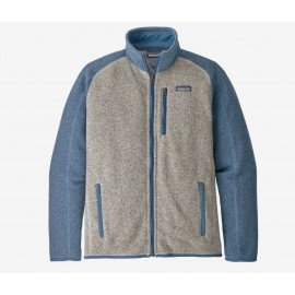 Chandaille Better Sweater - Bleached Stone w/Pigeon Blue