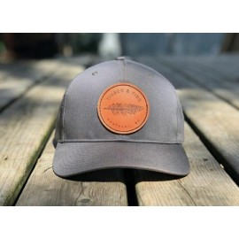 Casquette Timber & Fins - Feather Patch Steel