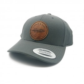 Casquette Timber And Fins - Gris