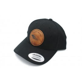 Timber And Fins Cap - Fin Patch Noir