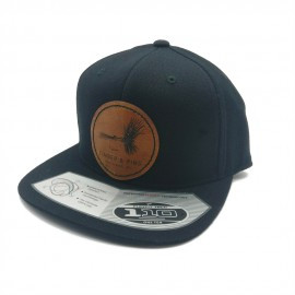 Casquette Timber And Fins - Fly Patch Noir