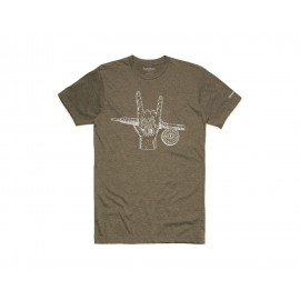 T-Shirt Hackett Rocker - Olive Heather
