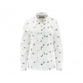 Chemise Isle - Dragon Fly White