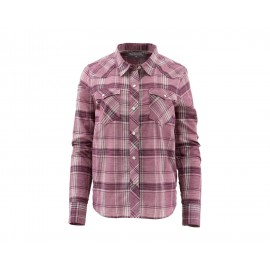 Chemise Ruby River - Garnet Plaid