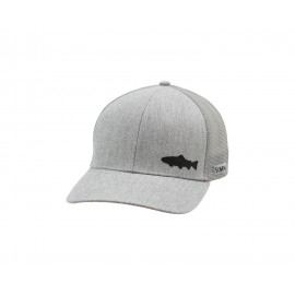 Casquette Payoff Trout Trucker - Heather Grey