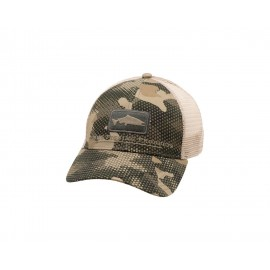Casquette Salmon Icon Trucker - Hex Flo Camo Timber