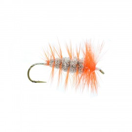 Bomber Brun Hackle Orange