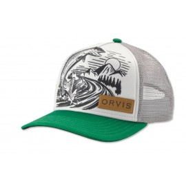 Casquette Jumping Trout - Foam Dome
