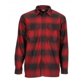 Chemise Coldweather - Auburn Red Plaid