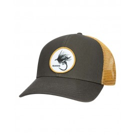 Casquette Trucker Dry Fly Rodeo Patch - Foliage