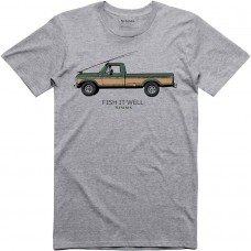 T-Shit Simms Fish It Well 250 - Grey Heather